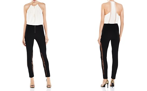 Haute Hippie The Thorny Rose Lace-Inset Cropped Skinny Pants - Bloomingdale's_2