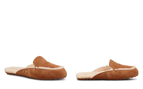 UGG® Women's Lane Suede & Shearling Slippers - Bloomingdale's_2