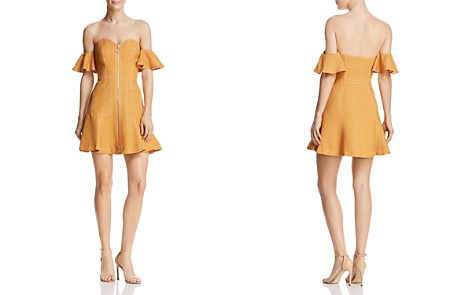 C/MEO Collective Get Right Off-the-Shoulder Mini Dress - Bloomingdale's_2