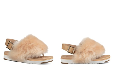 UGG® Women's Holly Sheepskin Thong Sandals - Bloomingdale's_2