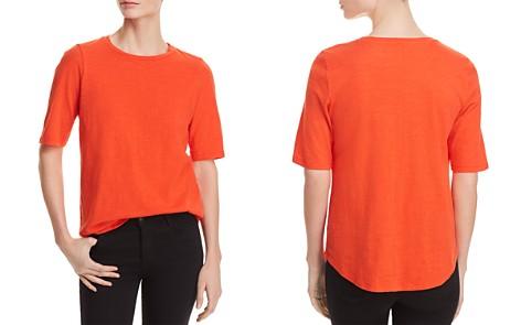 Eileen Fisher Organic Cotton Slub-Knit Tee - Bloomingdale's_2