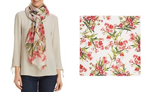 Max Mara Denver Floral Print Silk Scarf - Bloomingdale's_2