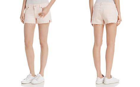 DL1961 Renee Cutoff Denim Shorts in Blush Pink - Bloomingdale's_2