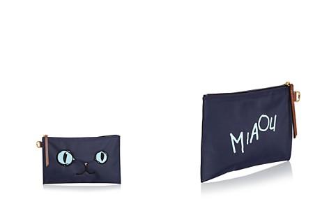 Longchamp Le Pliage Miaou Cosmetic Case - Bloomingdale's_2