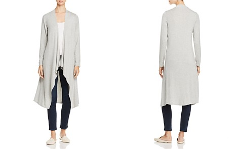 Alison Andrews Draped Open-Front Duster Cardigan - Bloomingdale's_2
