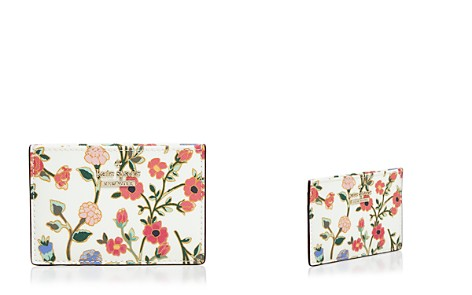kate spade new york Cameron Street Ditsy Blossom Card Holder - Bloomingdale's_2