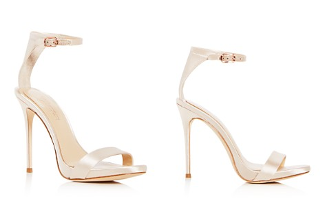 Imagine VINCE CAMUTO Women's Dacia Satin Ankle Strap High Heel Sandals - Bloomingdale's_2