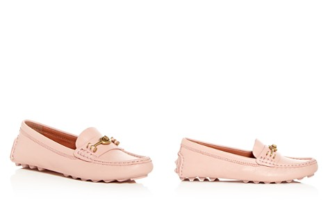 COACH Crosby Leather Loafer Drivers - Bloomingdale's_2