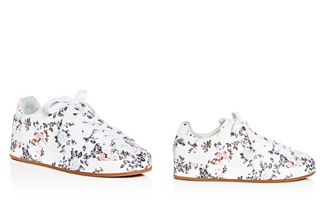 rag & bone Women's Floral Print Leather Lace Up Platform Sneakers - Bloomingdale's_2
