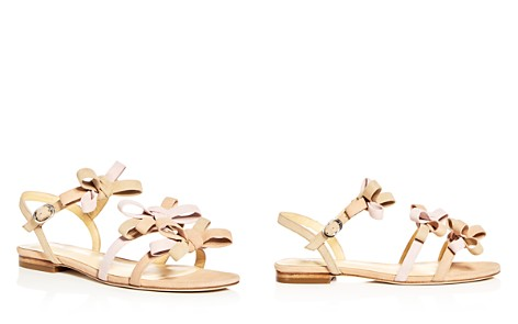 Isa Tapia Women's Nikita Suede Color-Block Bow Strappy Sandals - Bloomingdale's_2