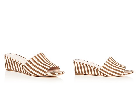 Loeffler Randall Women's Tilly Striped Wedge Slide Sandals - Bloomingdale's_2