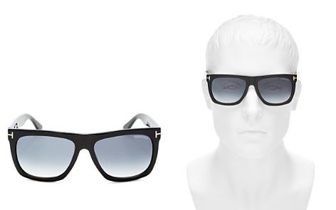 Tom Ford Men's Morgan Flat Top Square Sunglasses, 55mm - Bloomingdale's_2