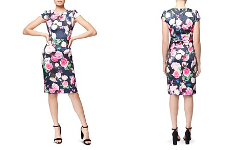 Betsey Johnson Floral-Print Scuba Sheath Dress - Bloomingdale's_2