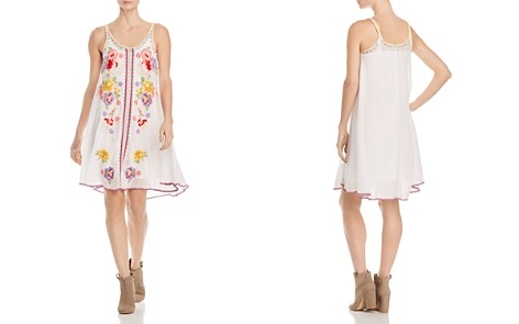 Johnny Was Collection Peta Embroidered Slip Dress - Bloomingdale's_2
