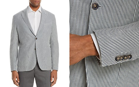 L.B.M Shirt Stripe Cotton & Linen Slim Fit Sport Coat - Bloomingdale's_2