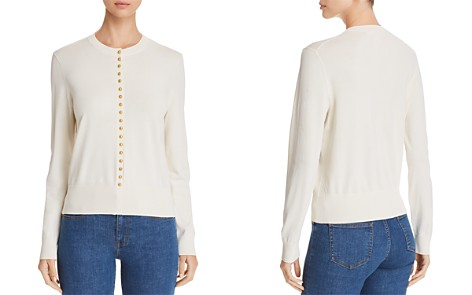 Tory Burch Natalia Button-Trimmed Sweater - Bloomingdale's_2