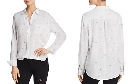 Rails Charli Butterfly-Print Blouse - 100% Exclusive - Bloomingdale's_2