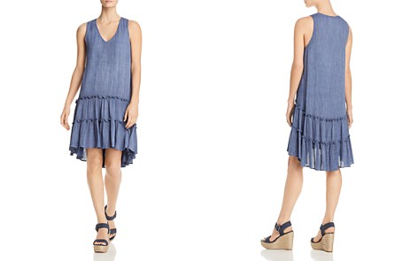 Robert Michaels Sleeveless Tiered-Ruffle Dress - 100% Exclusive - Bloomingdale's_2