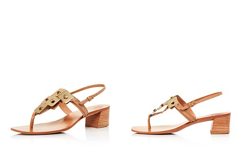 Tory Burch Women's Thompson Embellished Leather Block Heel Sandals - Bloomingdale's_2