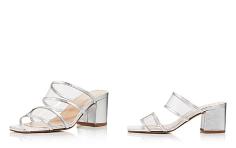 Charles David Women's Cally Leather Illusion Block Heel Slide Sandals - Bloomingdale's_2