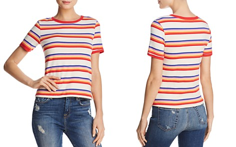 Honey Punch Vintage Striped Tee - Bloomingdale's_2