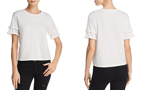 Michelle by Comune Ruffle-Sleeve Tee - Bloomingdale's_2