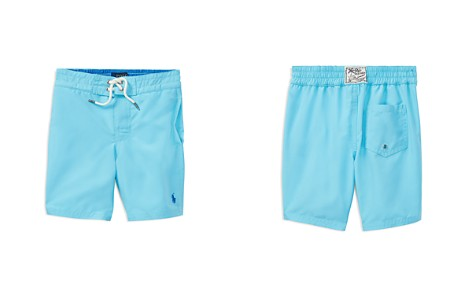 Polo Ralph Lauren Boys' Transforming Solid to Printed Sanibel Swim Trunks - Little Kid - Bloomingdale's_2