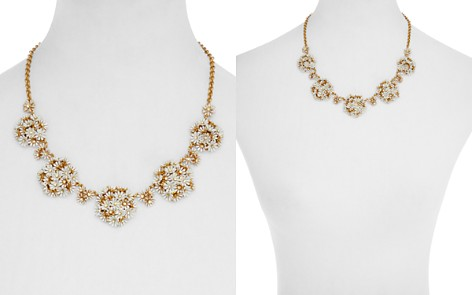 """kate spade new york Floral Cluster Statement Necklace, 16"""" - Bloomingdale's_2"""