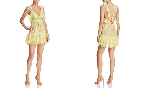 For Love & Lemons Tati Lace Ruffle Dress - Bloomingdale's_2