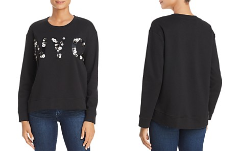 Kenneth Cole Floral Appliqué NYC Sweatshirt - Bloomingdale's_2