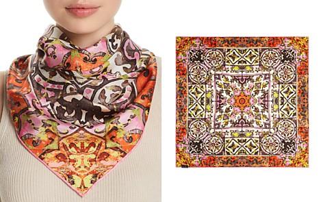 Fraas Distressed Tile Silk Square Scarf - Bloomingdale's_2