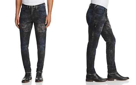 PRPS Goods & Co. Stretch Slim Fit Moto Jeans in Parade - Bloomingdale's_2