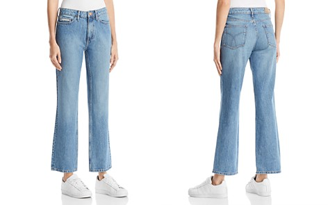 Calvin Klein Jeans High Rise Straight Jeans in Seinne Blue - Bloomingdale's_2