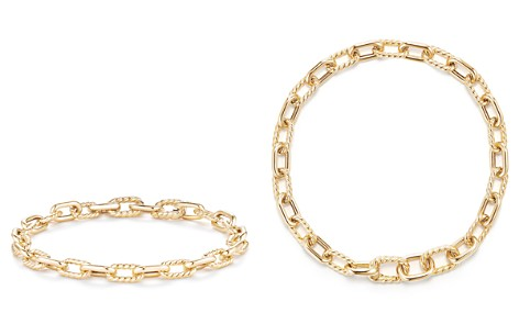 David Yurman Madison Bold Chain Bracelet in 18K Gold - Bloomingdale's_2