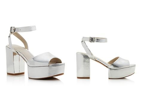 Kenneth Cole Women's Phoenix Leather Platform Ankle Strap Sandals - Bloomingdale's_2