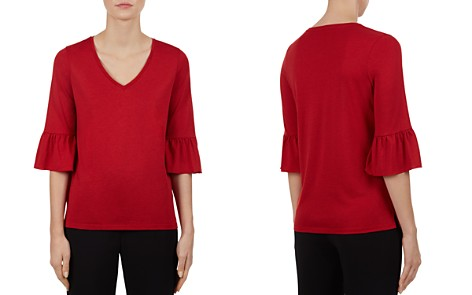 Gerard Darel Pippa Ruffled-Cuff Top - Bloomingdale's_2