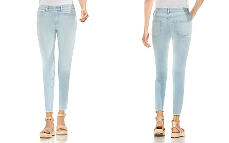 VINCE CAMUTO Frayed Hem Skinny Jeans in Surf Wash - Bloomingdale's_2