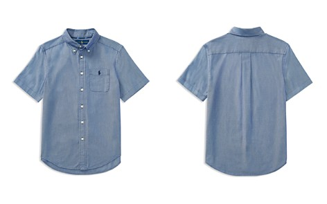 Polo Ralph Lauren Boys' Performance Oxford Shirt - Big Kid - Bloomingdale's_2