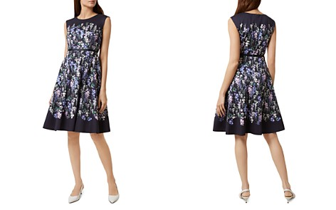 HOBBS LONDON Aubrie Floral Print Fit-and-Flare Dress - Bloomingdale's_2