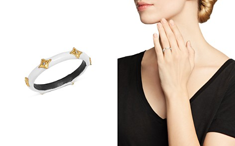 Armenta Blackened Sterling Silver & 18K Yellow Gold Old World Diamond Band - Bloomingdale's_2