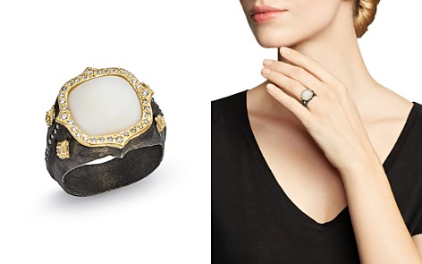 Armenta 18K Yellow Gold & Blackened Sterling Silver Old World Potch Opal & Diamond Signet Ring - Bloomingdale's_2