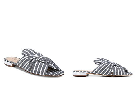Sam Edelman Women's Darian Striped Slide Sandals - 100% Exclusive - Bloomingdale's_2