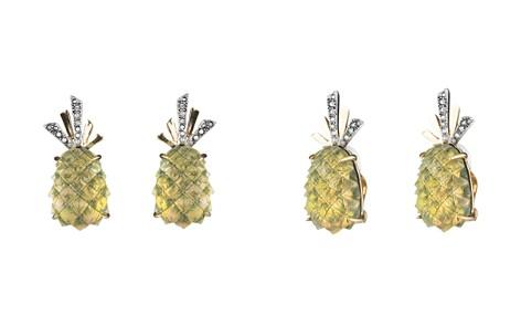 Alexis Bittar Pineapple Clip-On Earrings - Bloomingdale's_2