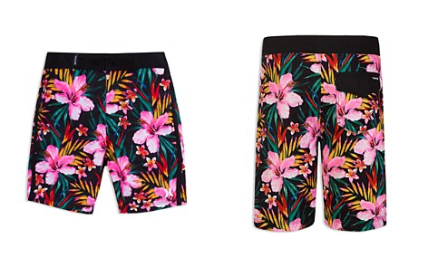 Hurley Boys' Tropical Garden Print Board Shorts - Big Kid - Bloomingdale's_2