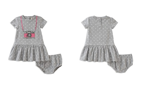 kate spade new york Girls' Polka-Dotted Trompe L'Oeil Camera Dress & Bloomers Set - Baby - Bloomingdale's_2