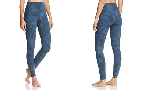 Alo Yoga Airbrush Printed Leggings - Bloomingdale's_2