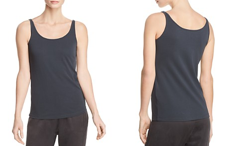 Eileen Fisher Silk Scoop-Neck Cami - Bloomingdale's_2