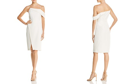 Laundry by Shelli Segal Asymmetric Cocktail Dress - Bloomingdale's_2