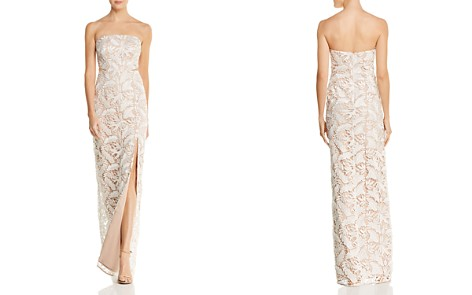 Aidan by Aidan Mattox Cutout Lace Gown - 100% Exclusive - Bloomingdale's_2