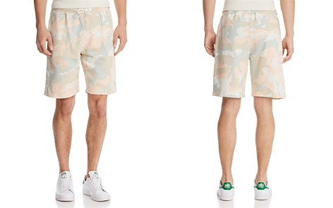 WeSC Marty Camouflage Sweat Shorts - Bloomingdale's_2